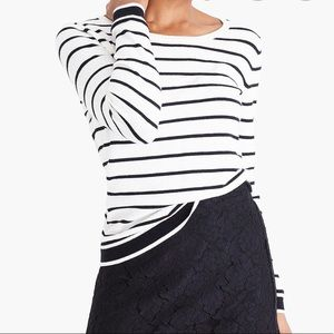 Striped crew neck sweater | j crew mercantile | S
